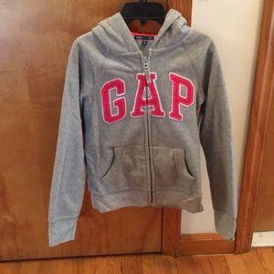 Girls Gap zip up hoodie